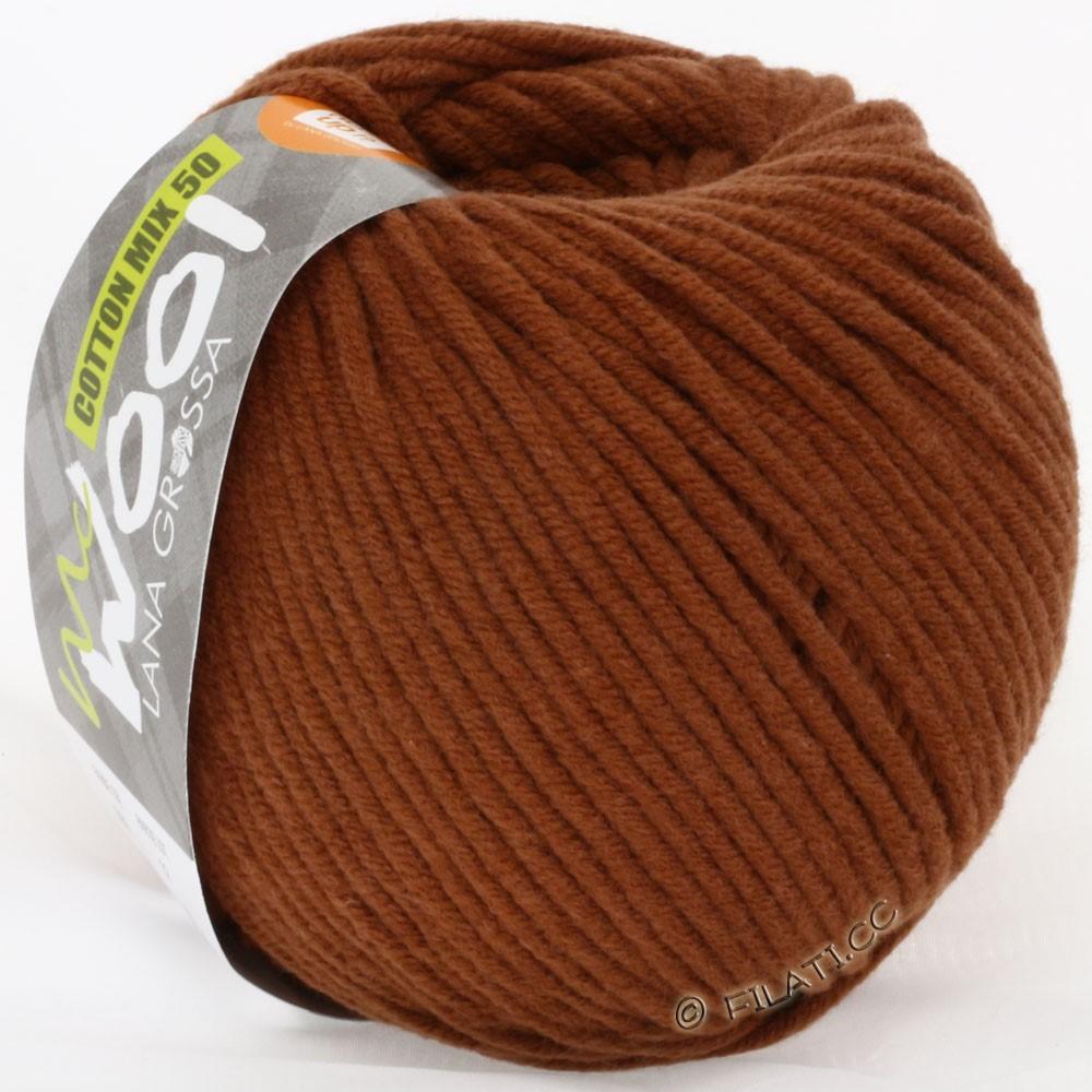 Lana Grossa COTTON MIX 50/100g (McWool) | 09-brown