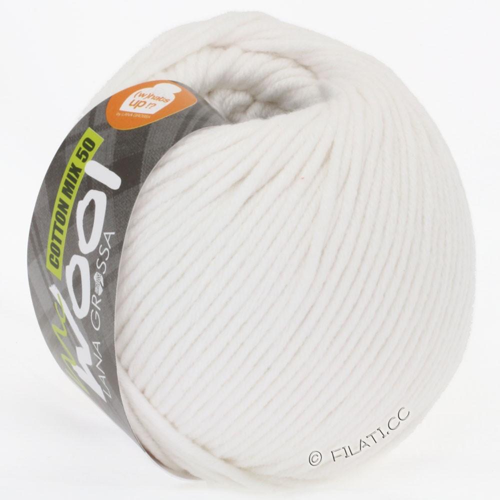 Lana Grossa COTTON MIX 50/100g (McWool) | 11-white