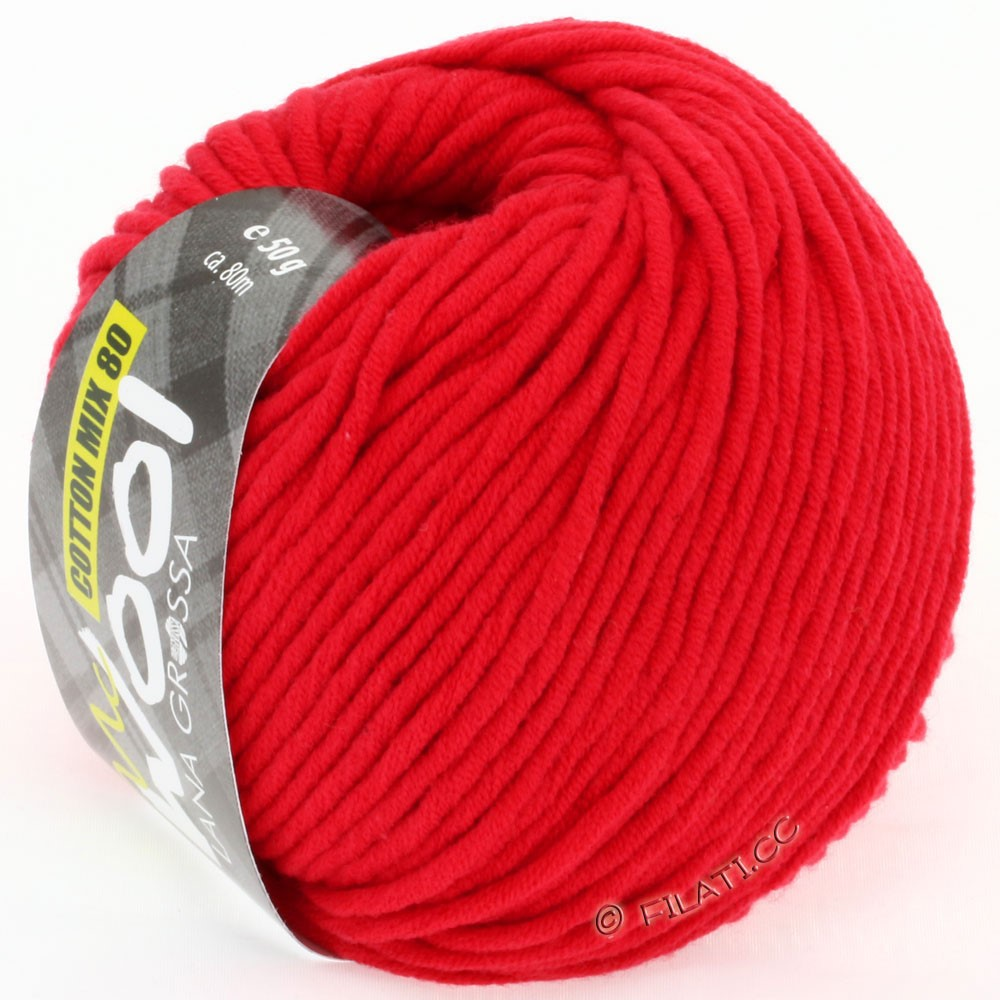 Lana Grossa COTTON MIX 80 (McWool) | 503-red