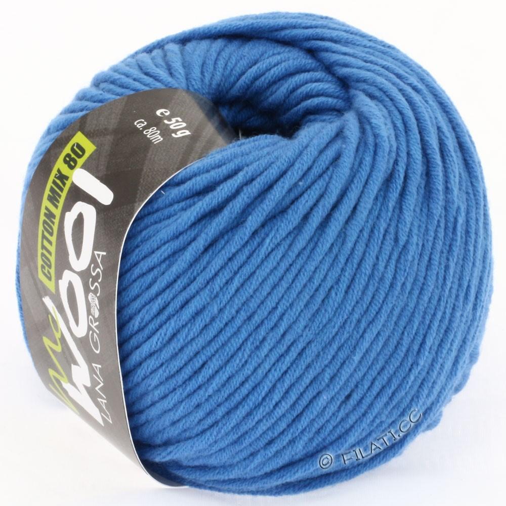 Lana Grossa COTTON MIX 80 (McWool) | 512-blue