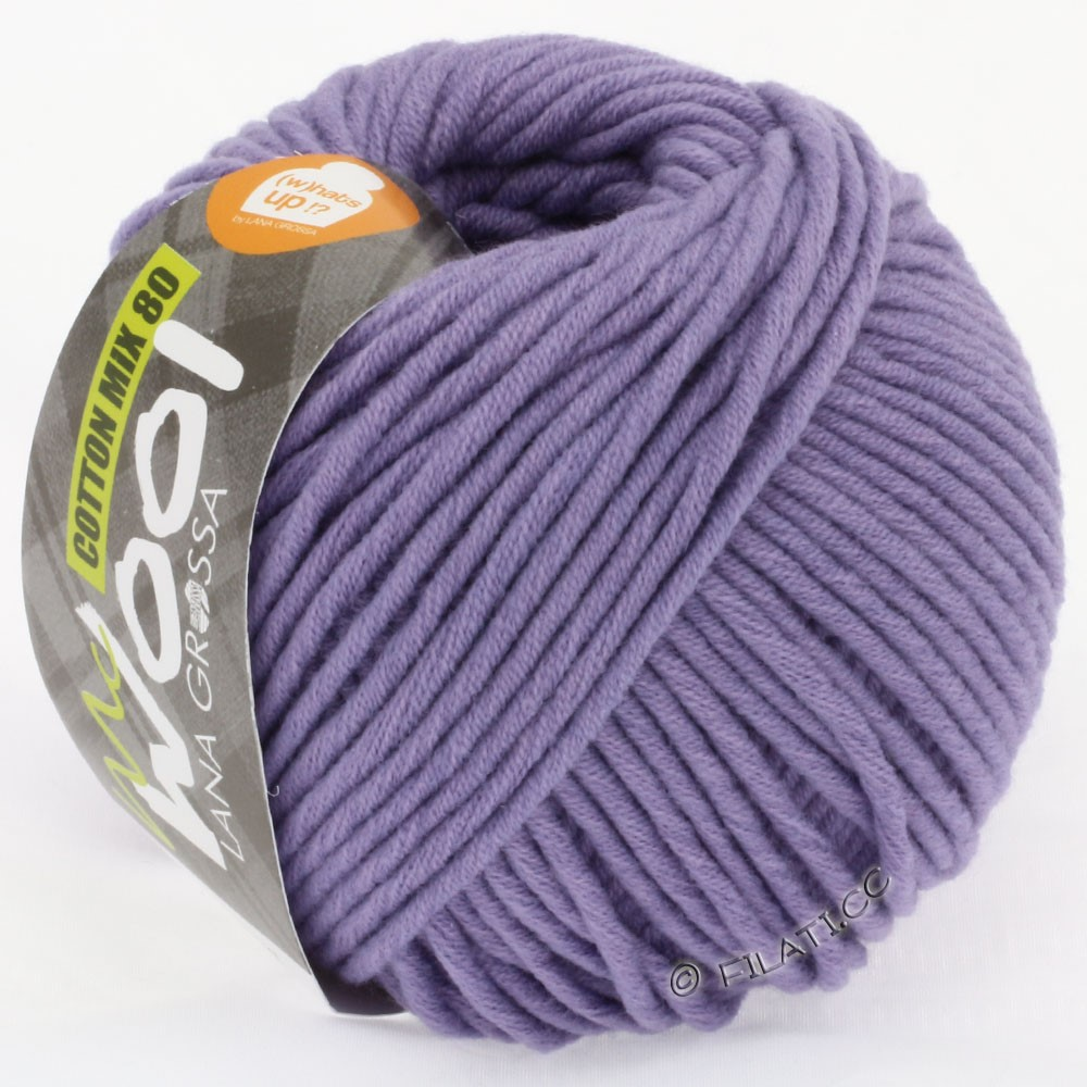 Lana Grossa COTTON MIX 80 (McWool) | 523-purple