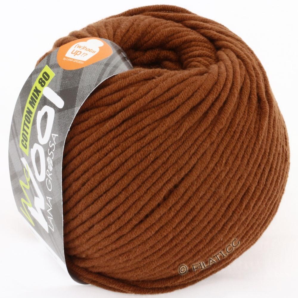 Lana Grossa COTTON MIX 80 (McWool) | 526-brown