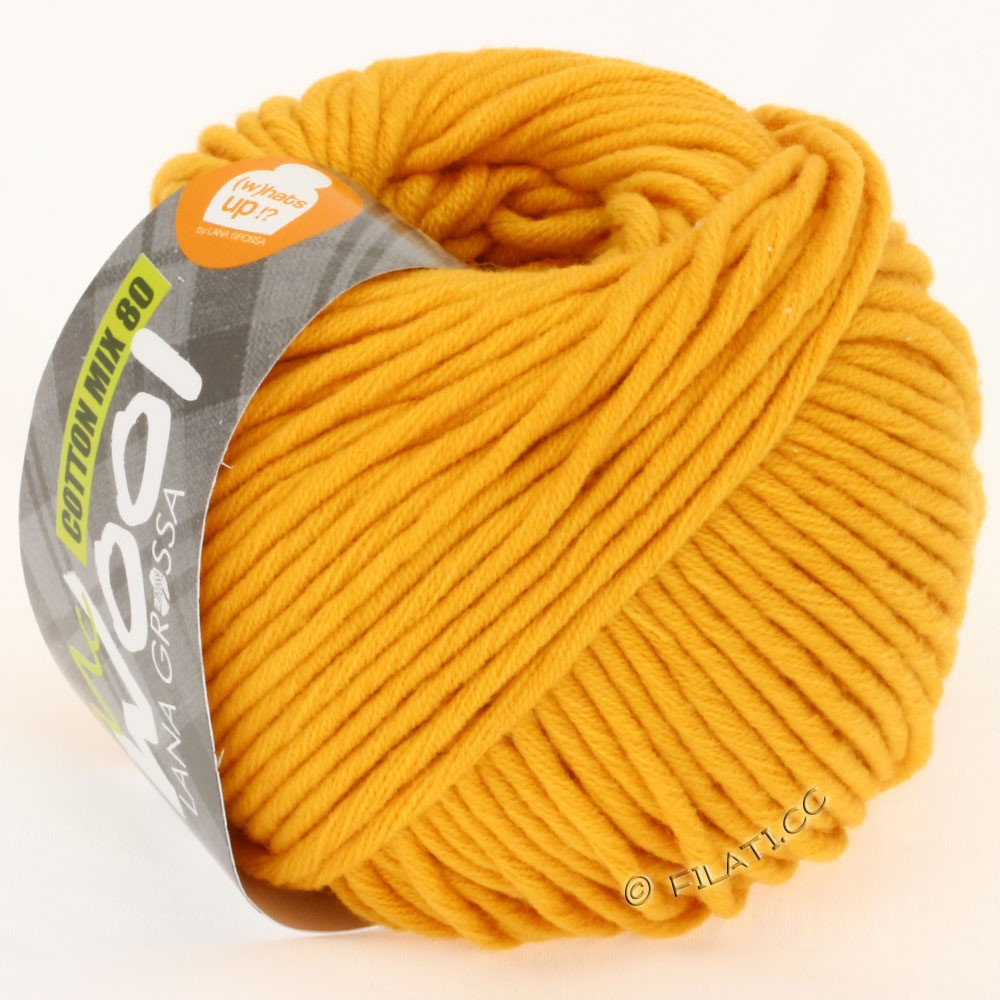 Lana Grossa COTTON MIX 80 (McWool) | 527-corn yellow