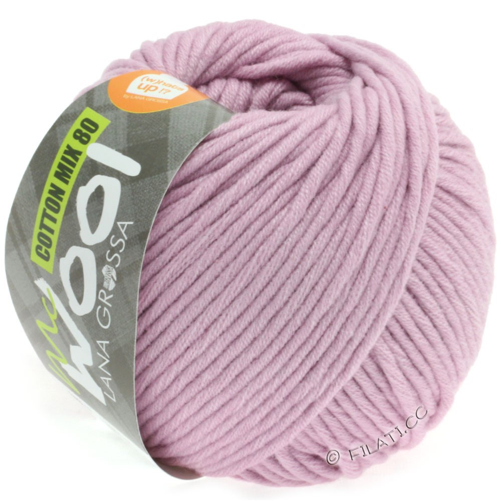 Lana Grossa COTTON MIX 80 (McWool) | 532-antique pink