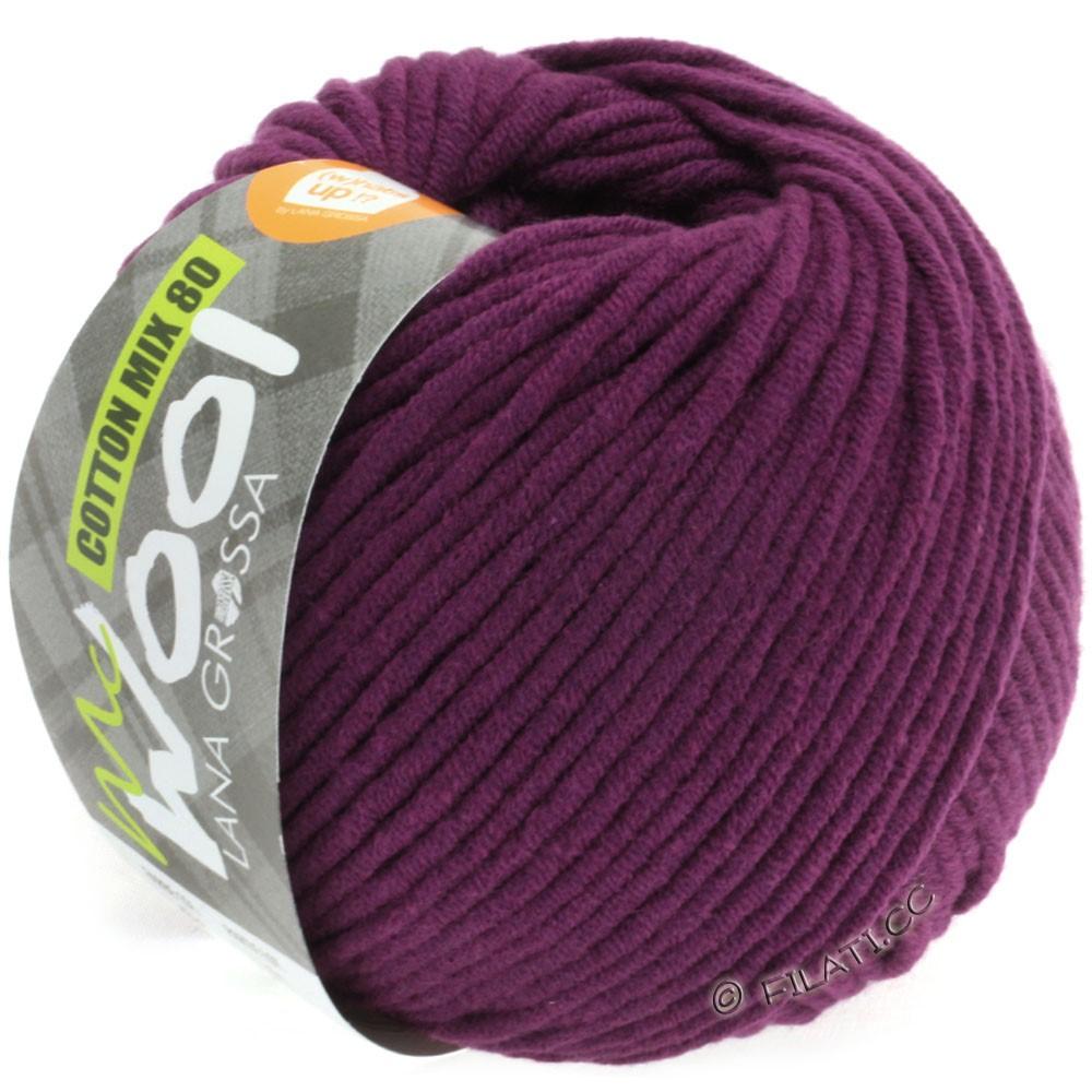 Lana Grossa COTTON MIX 80 (McWool) | 533-dark violet