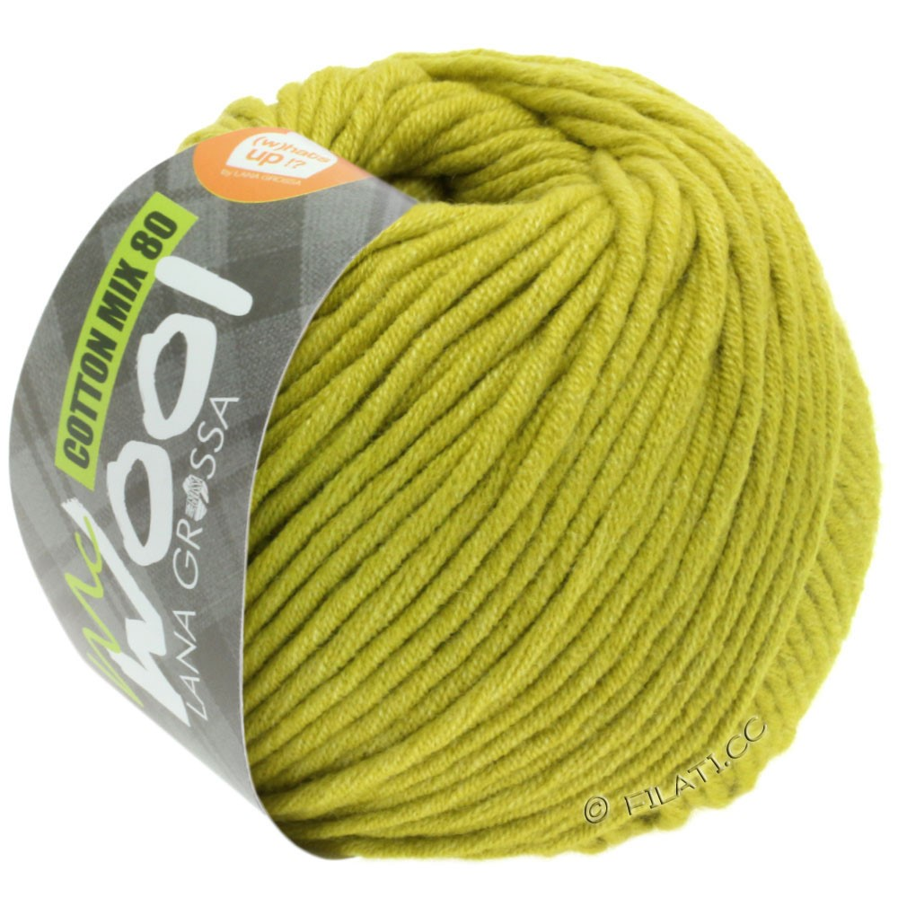 Lana Grossa COTTON MIX 80 (McWool) | 534-pistachio