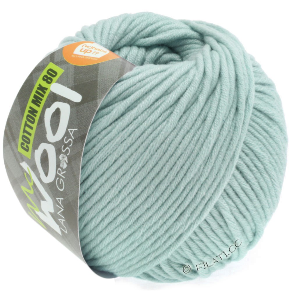 Lana Grossa COTTON MIX 80 (McWool) | 536-subtle green