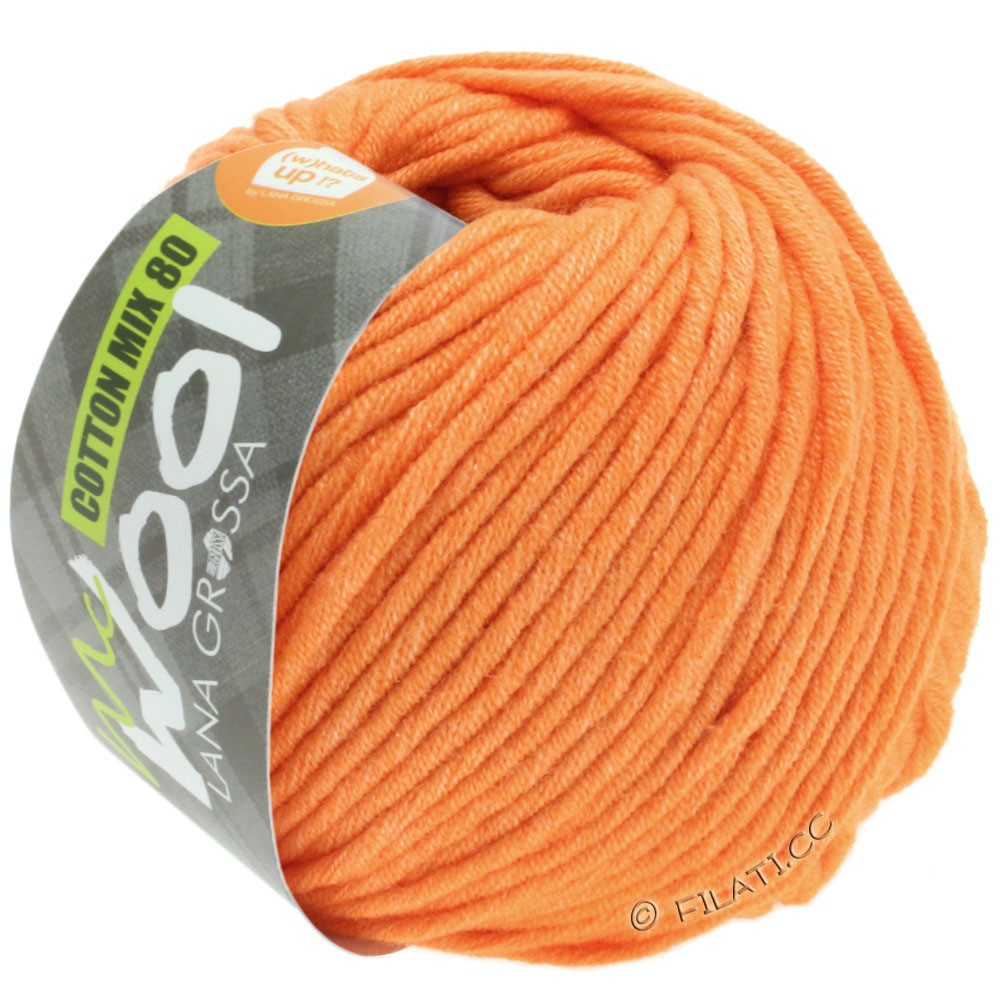 Lana Grossa COTTON MIX 80 (McWool) | 539-apricot