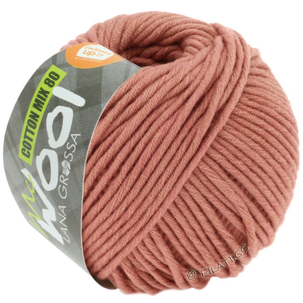 Lana Grossa COTTON MIX 80 (McWool) | 541-copper red