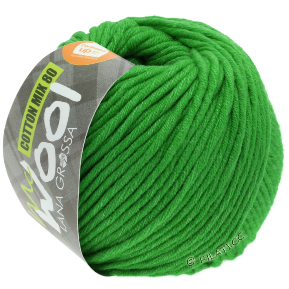 Lana Grossa COTTON MIX 80 (McWool) | 543-may green