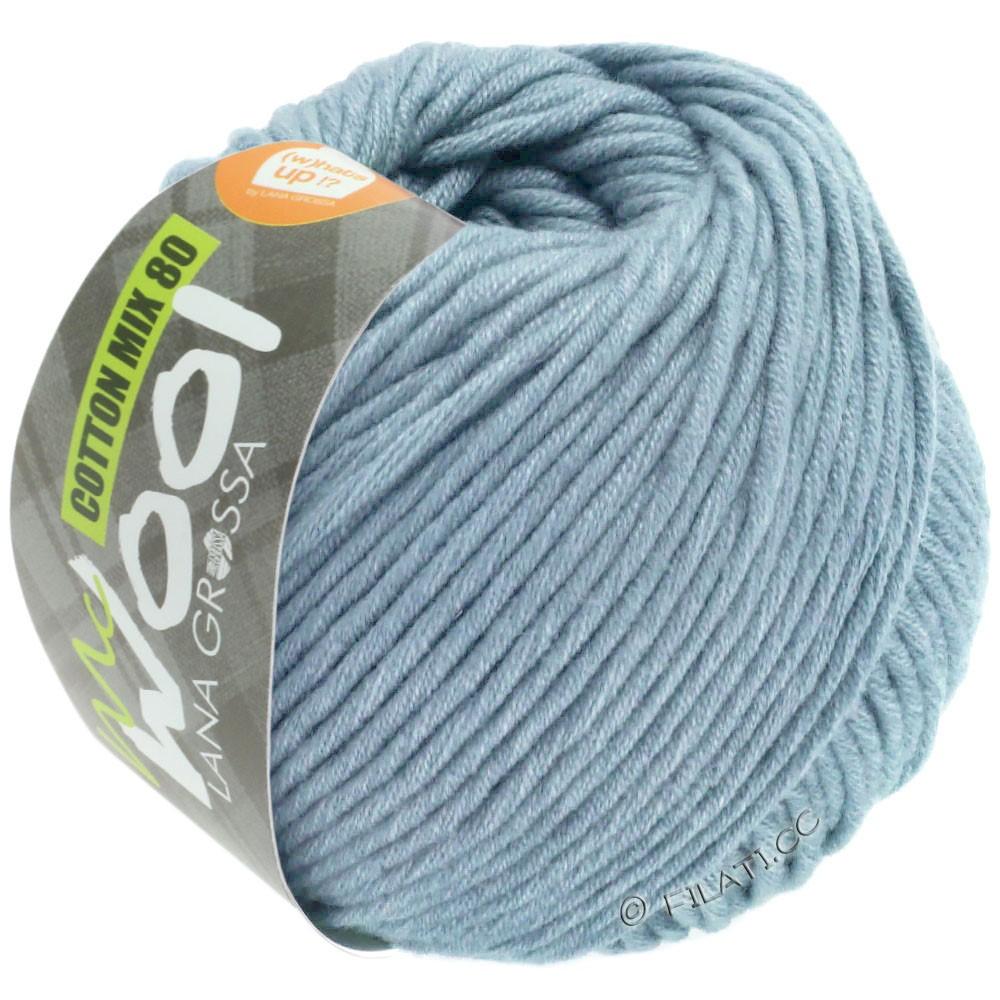 Lana Grossa COTTON MIX 80 (McWool) | 550-light blue