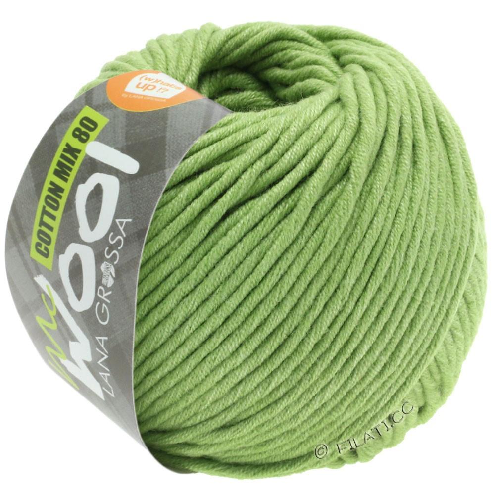 Lana Grossa COTTON MIX 80 (McWool) | 552-linden green