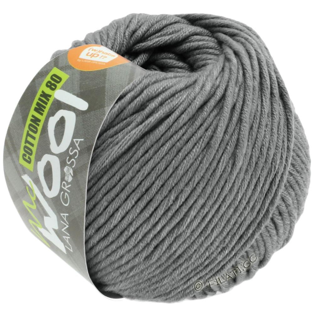 Lana Grossa COTTON MIX 80 (McWool) | 554-gray