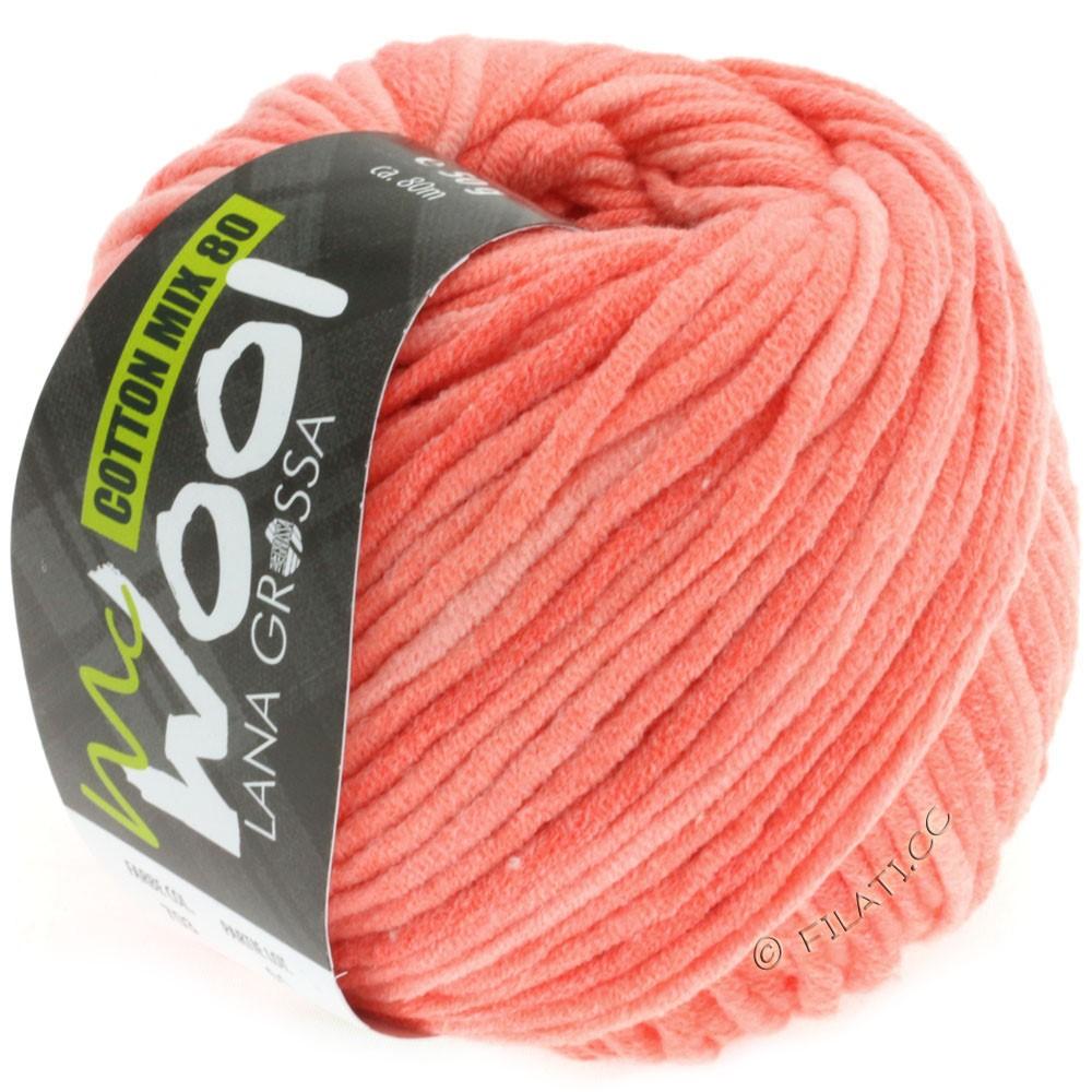 Lana Grossa COTTON MIX 80 Print (McWool) | 703-salmon/coral