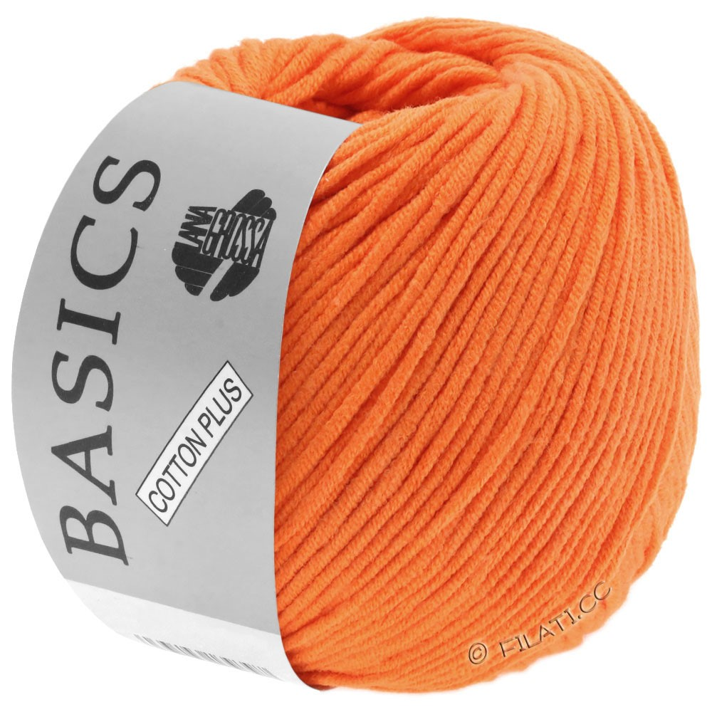 Lana Grossa COTTON PLUS   102-orange