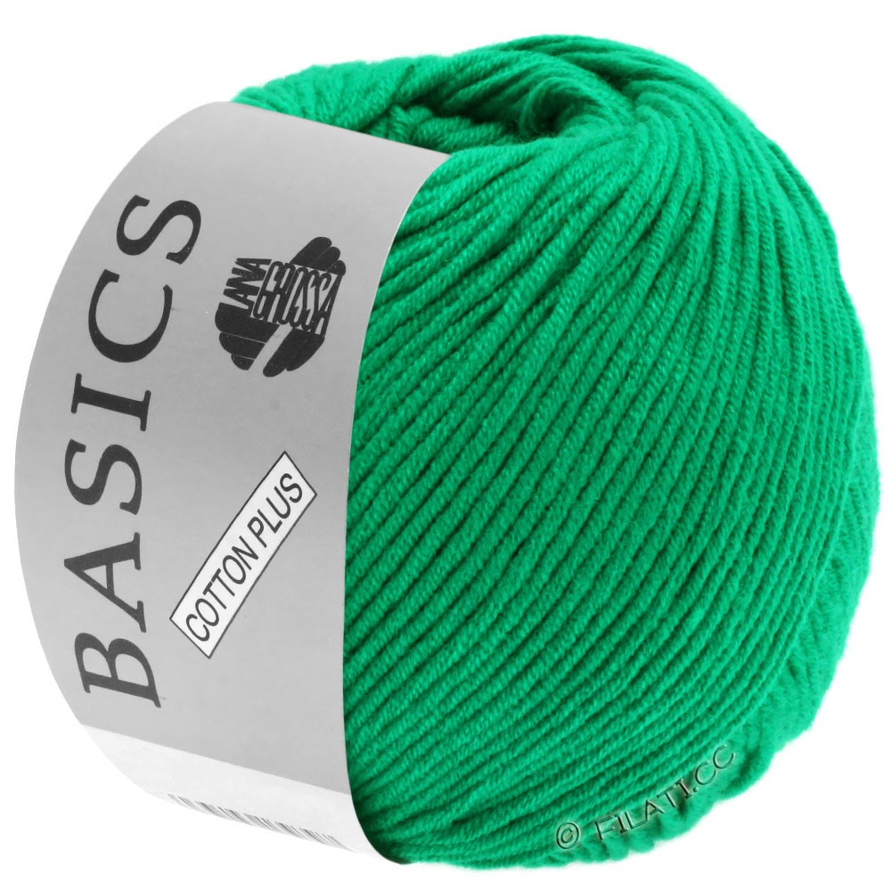 Lana Grossa COTTON PLUS | 110-emerald green