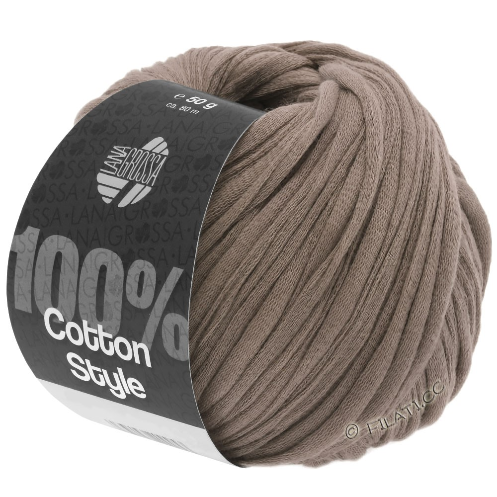 Lana Grossa COTTON STYLE | 04-gray brown