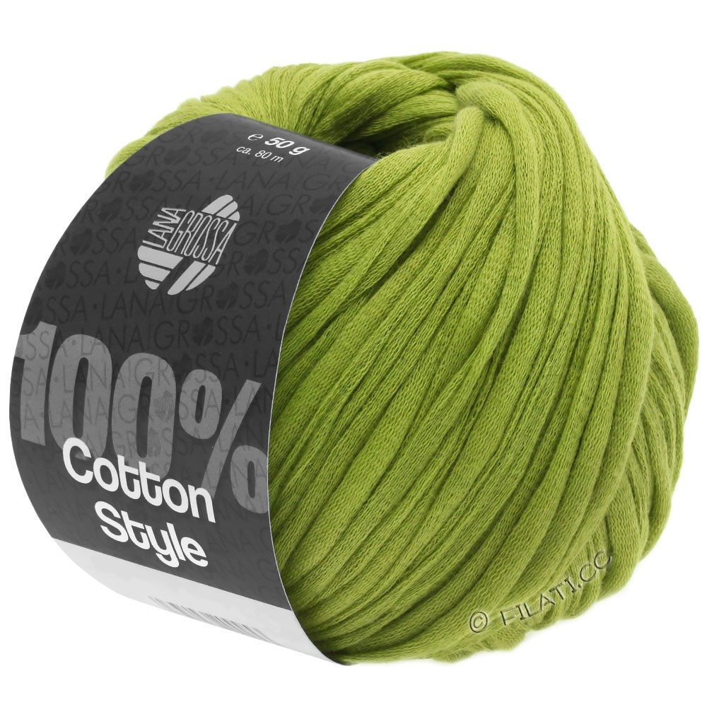 Lana Grossa COTTON STYLE | 10-yellow green