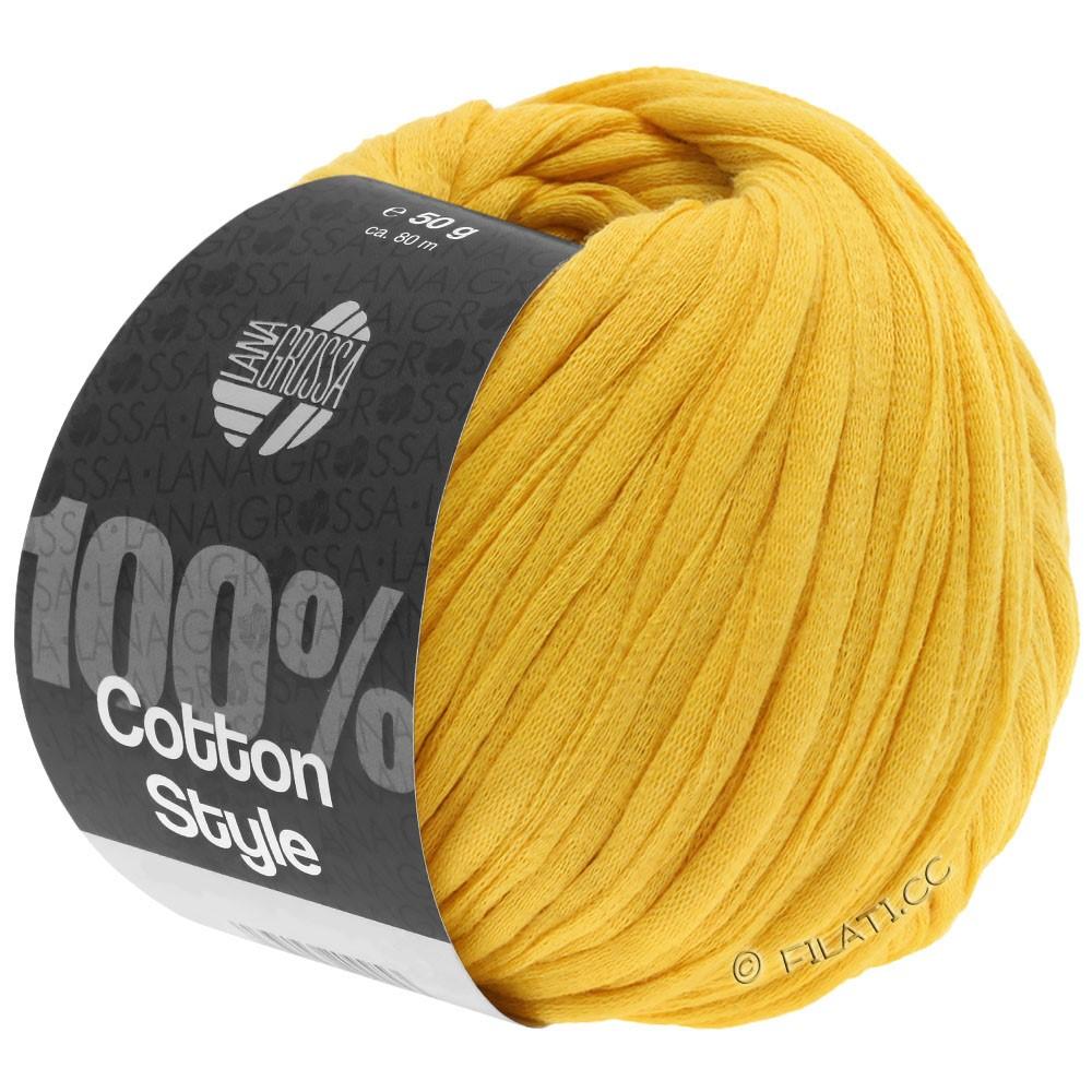 Lana Grossa COTTON STYLE | 15-yellow