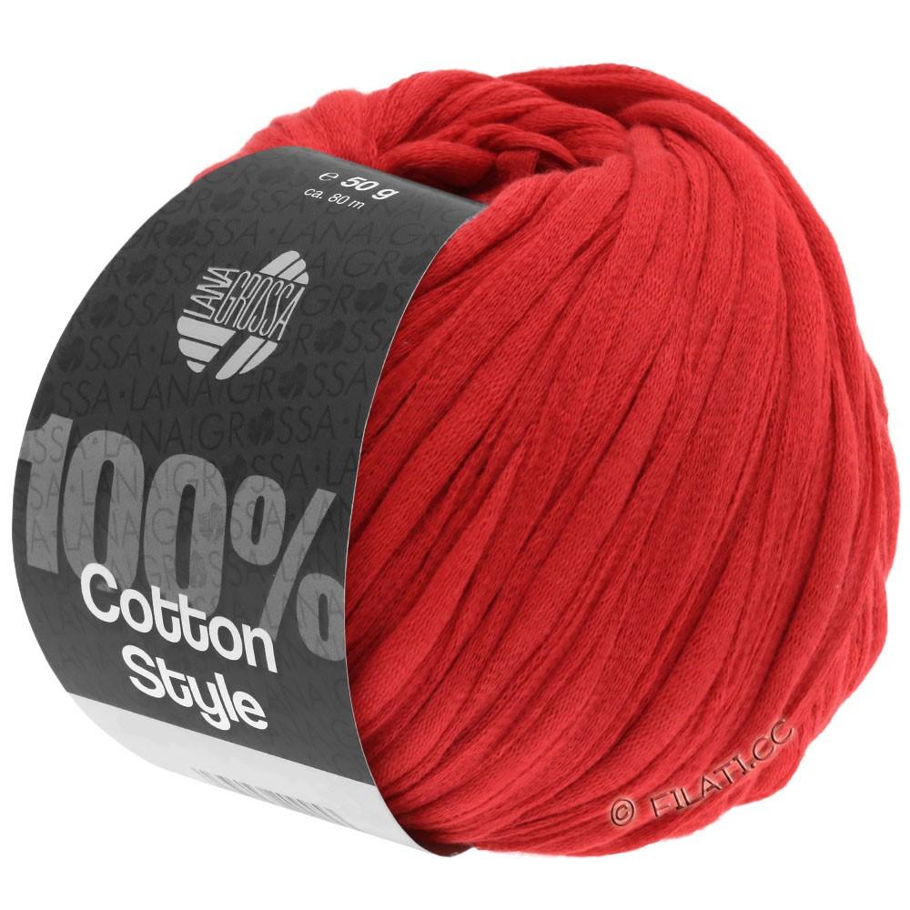 Lana Grossa COTTON STYLE | 17-red
