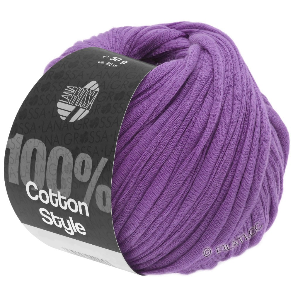 Lana Grossa COTTON STYLE | 19-purple