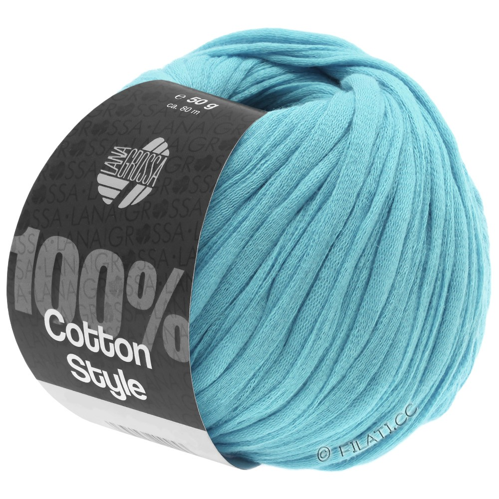 Lana Grossa COTTON STYLE | 21-turquoise