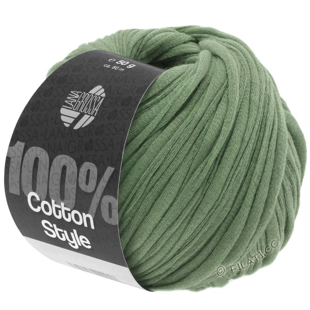 Lana Grossa COTTON STYLE | 24-reseda green