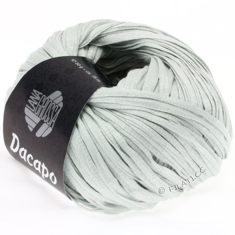 Lana Grossa DACAPO  Uni | 002-light gray