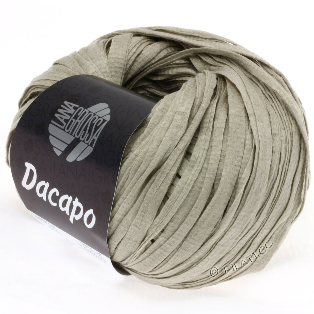 Lana Grossa DACAPO  Uni | 003-stone gray