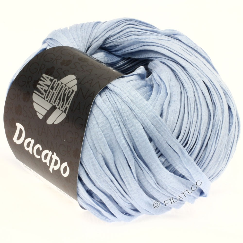 Lana Grossa DACAPO  Uni | 007-light blue