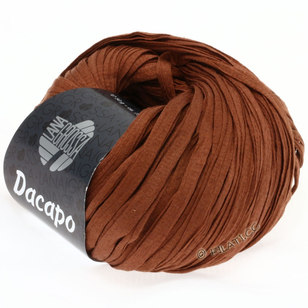 Lana Grossa DACAPO  Uni | 009-cinnamon brown