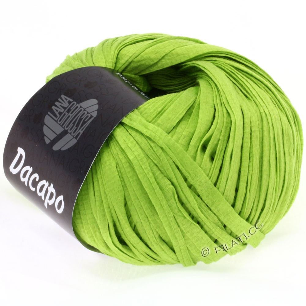 Lana Grossa DACAPO  Uni | 015-yellow green