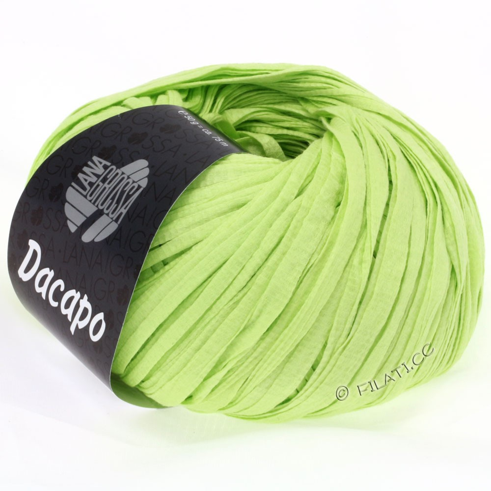 Lana Grossa DACAPO Uni | 016-light green