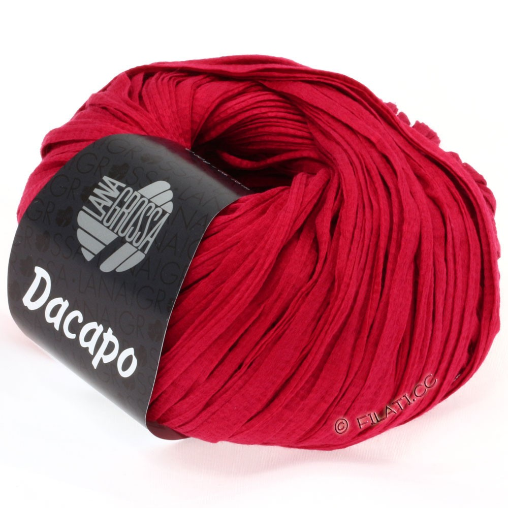 Lana Grossa DACAPO  Uni | 020-ruby red