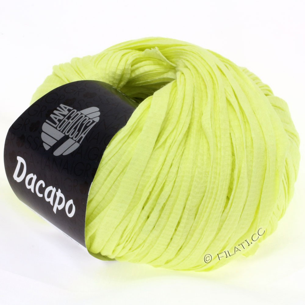 Lana Grossa DACAPO  Uni | 023-citrus yellow