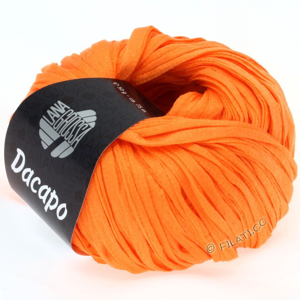 Lana Grossa DACAPO  Uni | 024-orange