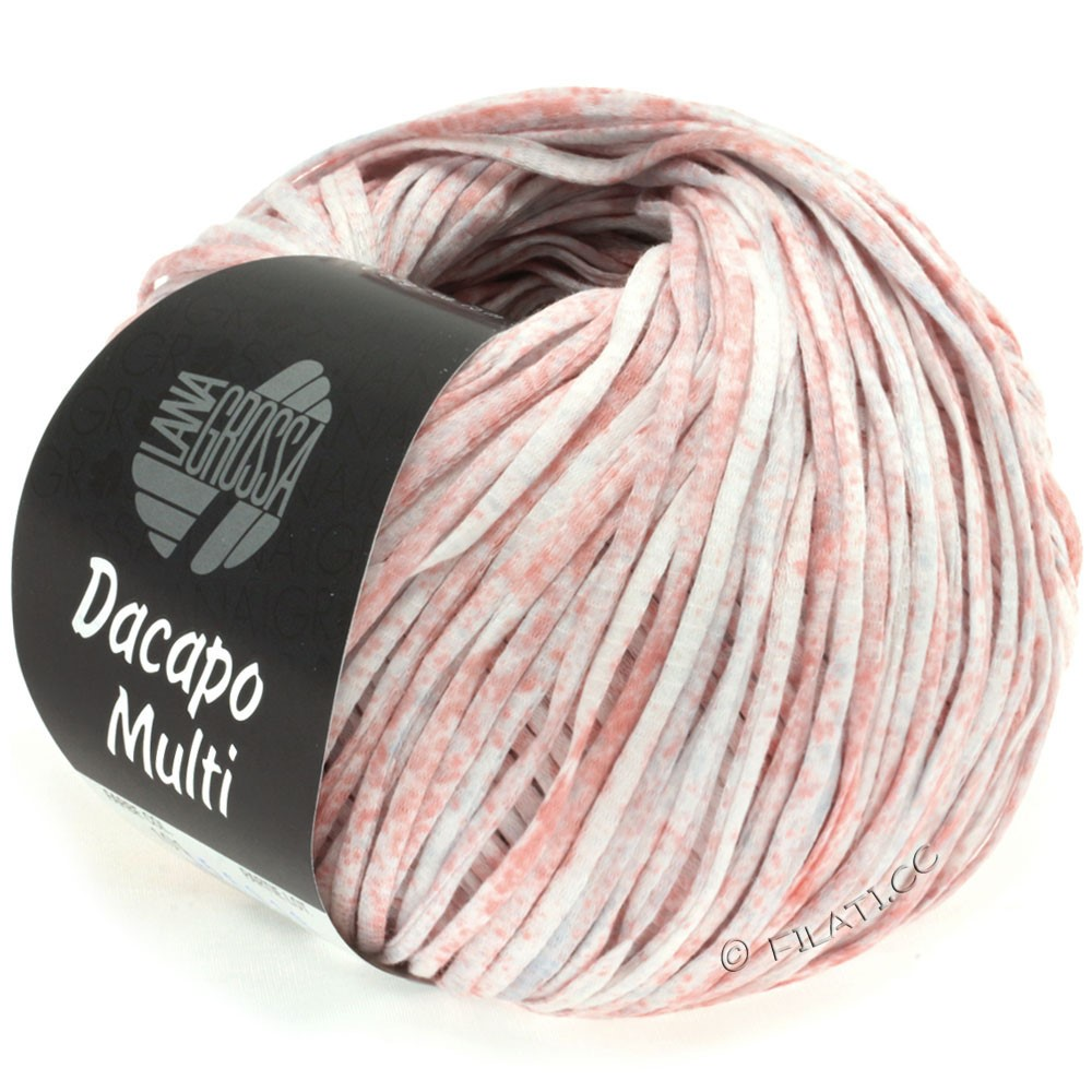 Lana Grossa DACAPO Multi | 101-rose/light gray/lilac/natural