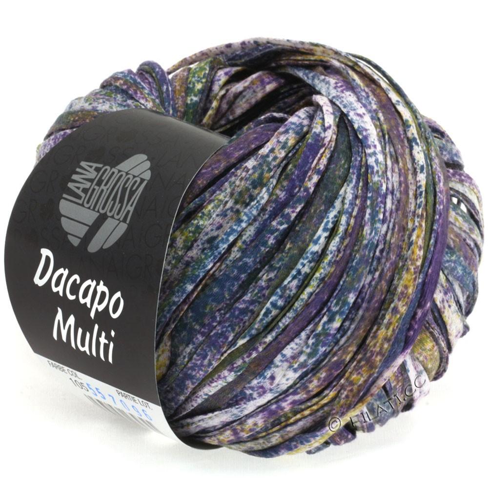Lana Grossa DACAPO Multi | 105-purple/mustard/petrol/natural