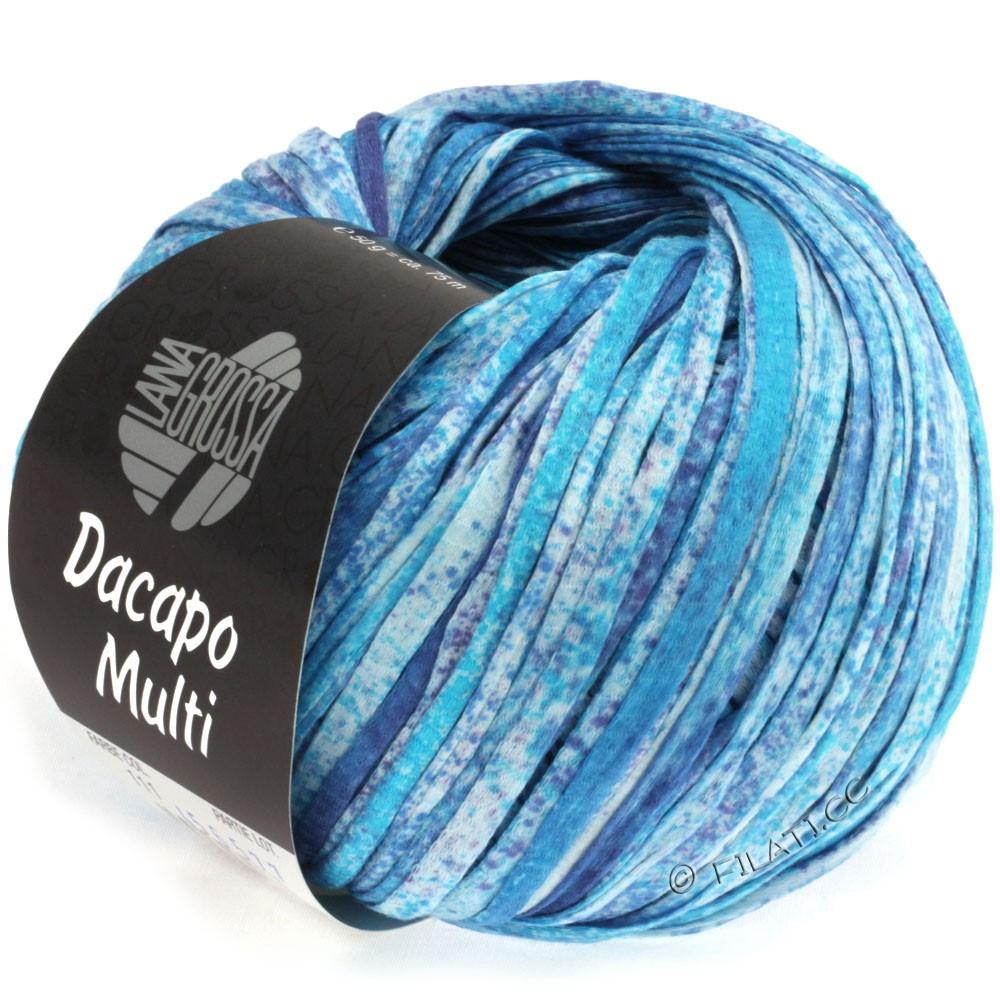 Lana Grossa DACAPO Multi | 111-turquoise/blue violet/natural