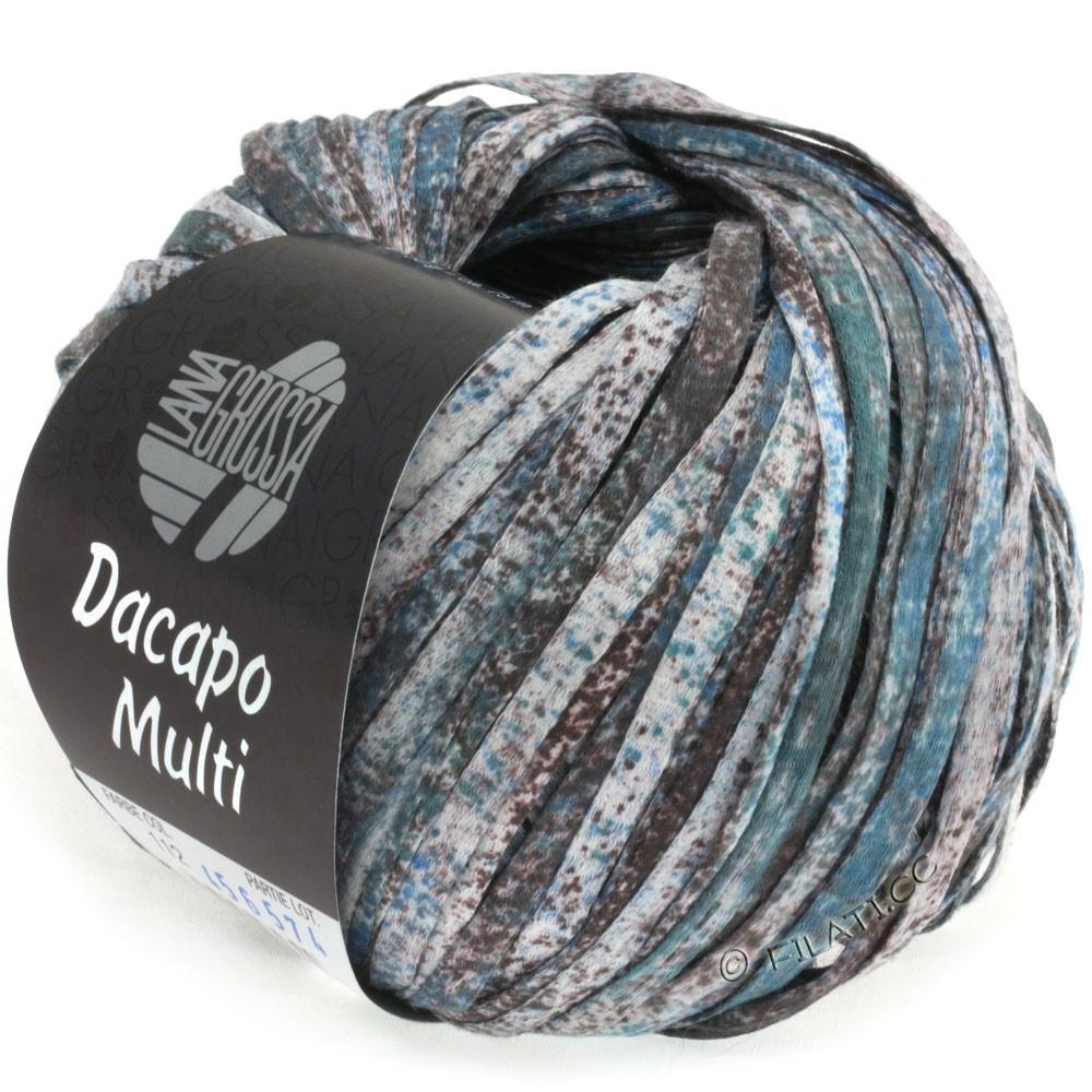 Lana Grossa DACAPO Multi | 112-gray brown/jeans/tulipwood/petrol/natural