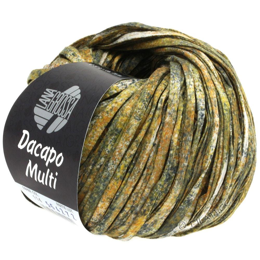 Lana Grossa DACAPO Multi | 114-gold/rust/anthracite/natural