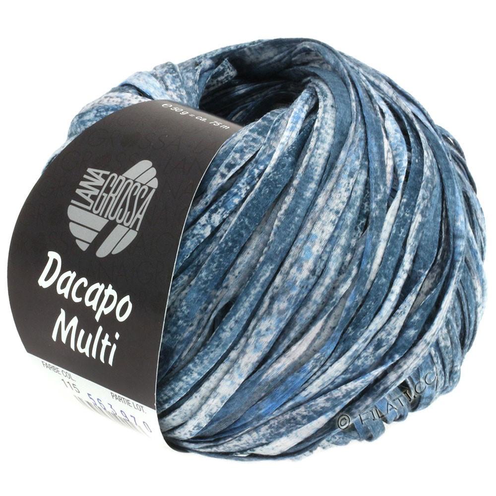 Lana Grossa DACAPO Multi | 115-light blue/night blue/gray/white
