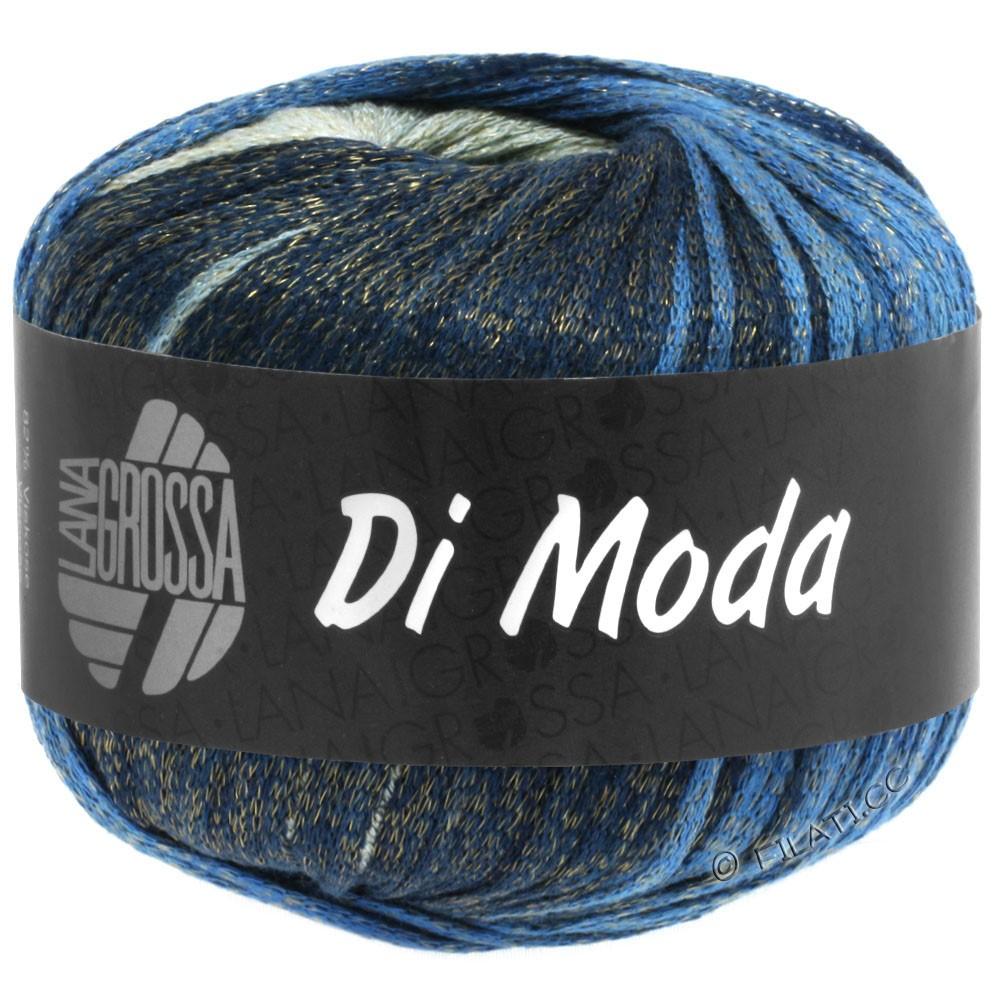Lana Grossa DI MODA | 03-green gray/blue/navy/night blue
