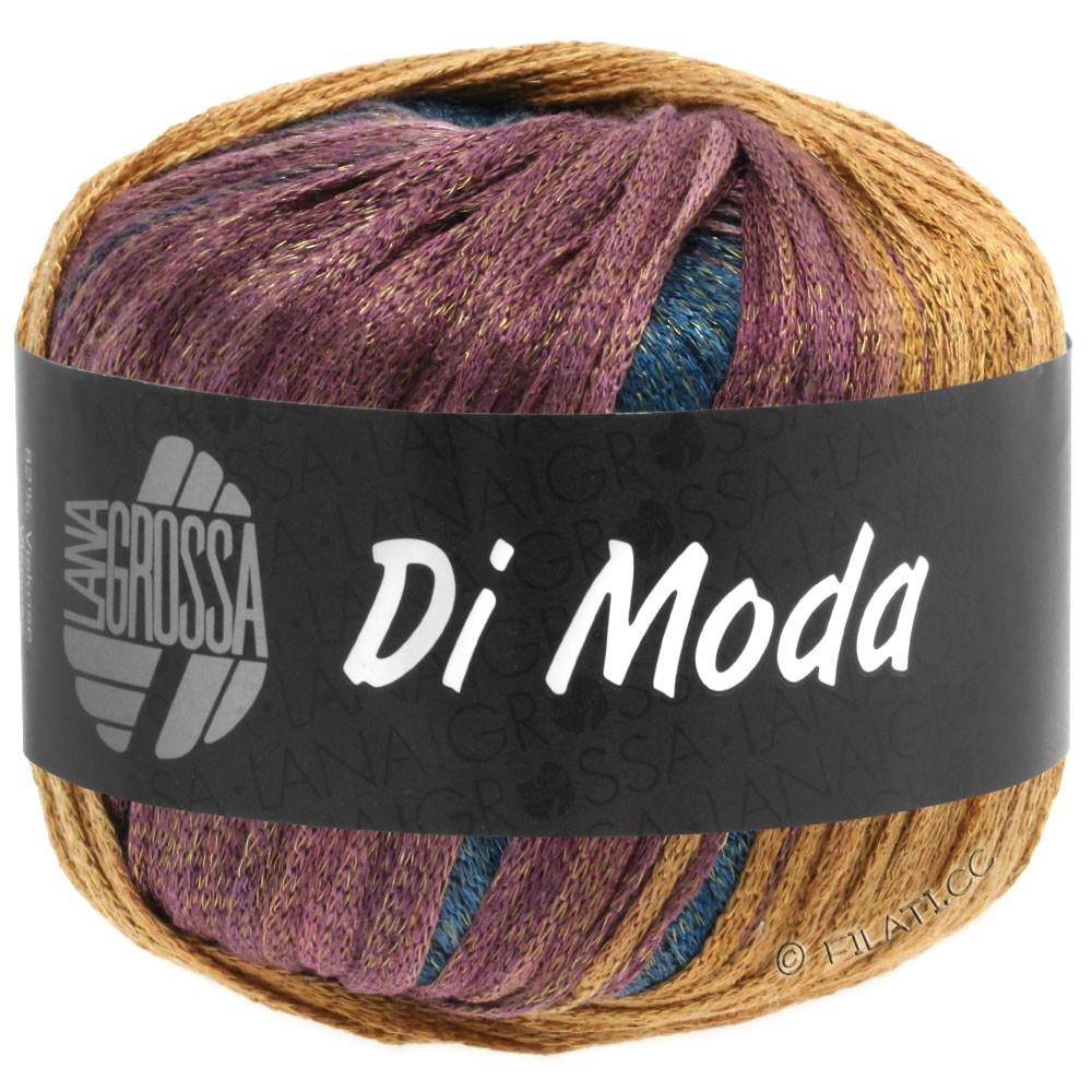 Lana Grossa DI MODA | 13-khaki/ochre/bordeaux/black green