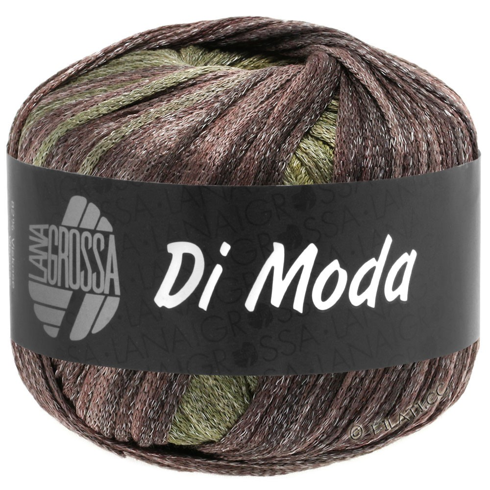 Lana Grossa DI MODA | 14-light olive/dark olive/gray green/blackberry