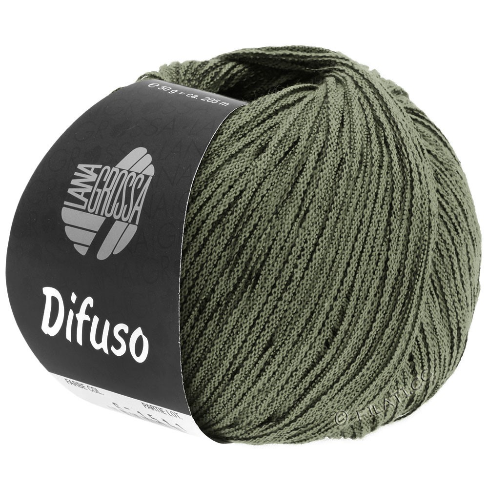 Lana Grossa DIFUSO | 11-gray green/black