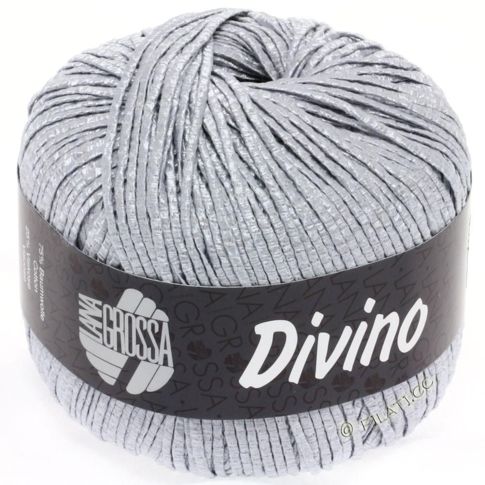 Lana Grossa DIVINO Uni | 06-silver gray