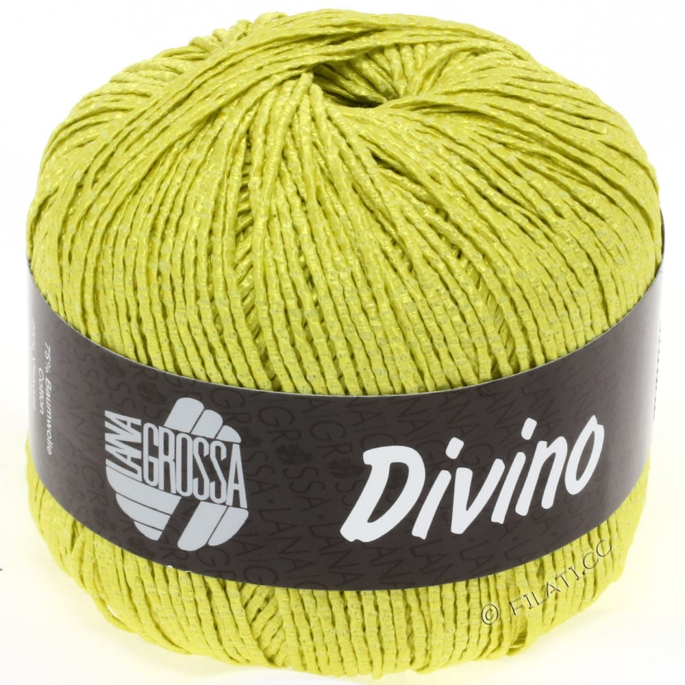 Lana Grossa DIVINO Uni | 21-yellow green