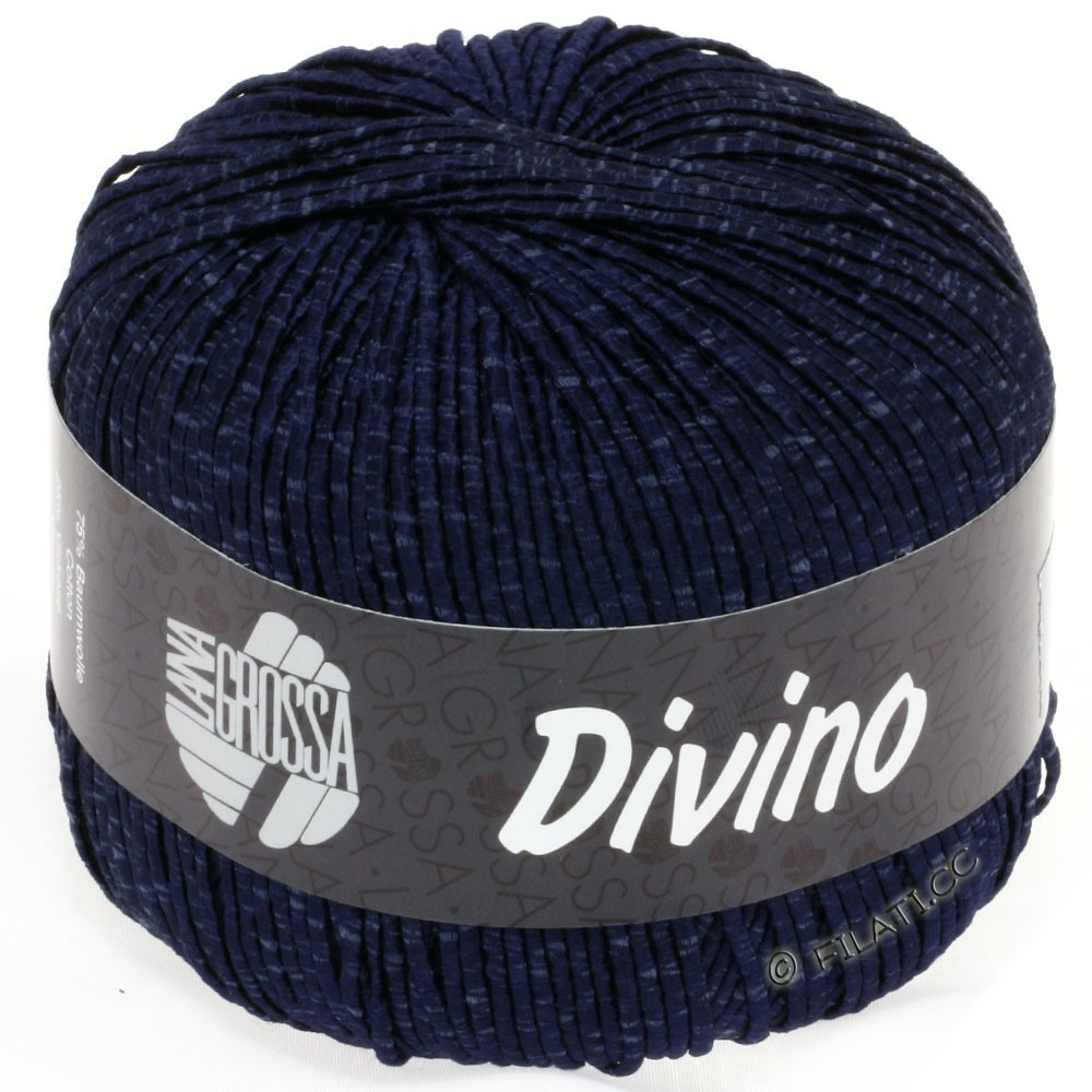 Lana Grossa DIVINO Uni | 23-night blue