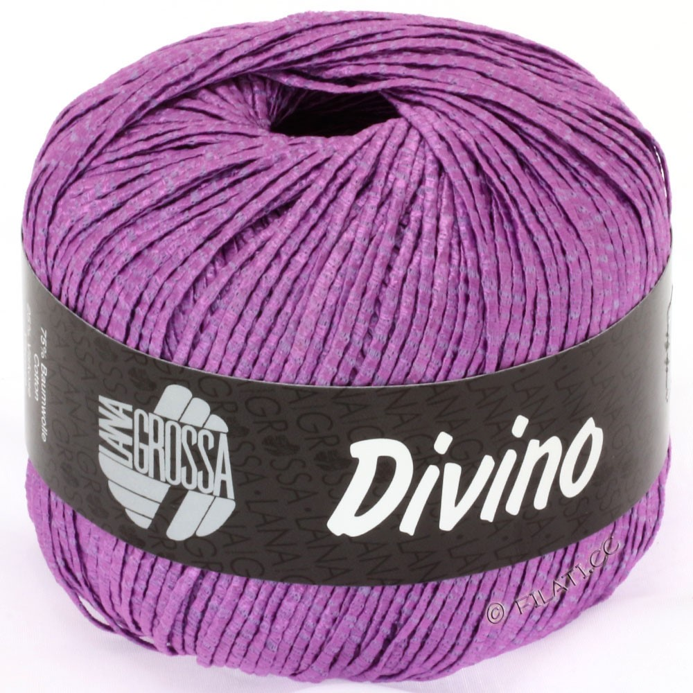 Lana Grossa DIVINO Uni | 28-purple